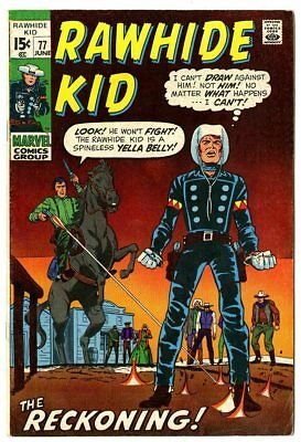 Rawhide Kid #77 VF- 7.5 off-white pages  Marvel  1970  No Reserve