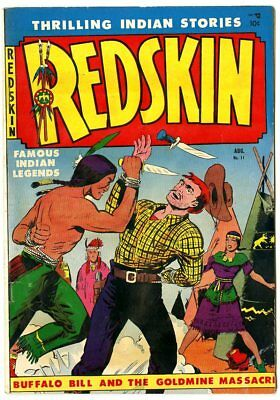 Redskin #11 FN 6.0 off-white pages  Youthful  1952  No Reserve