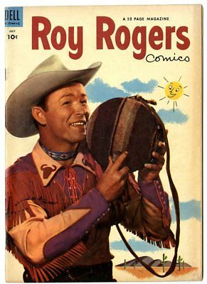 Roy Rogers Comics #67 G/VG 3.0 off-white pages  Photo Cover  Dell  1953  No Resv