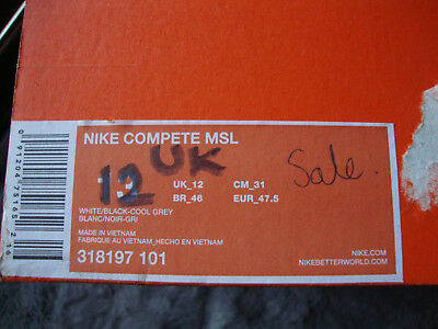 Nike Compete Brand new Boxed size 12