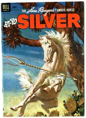 Silver #8 VF+ 8.5 white pages  Lone Ranger  Dell  1953  No Reserve