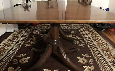 Vintage Baker Furniture Dining Room Table