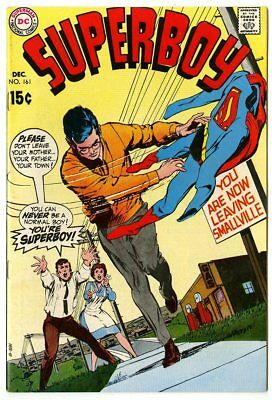 Superboy #161 VF/NM 9.0 white pages  DC  1969  No Reserve