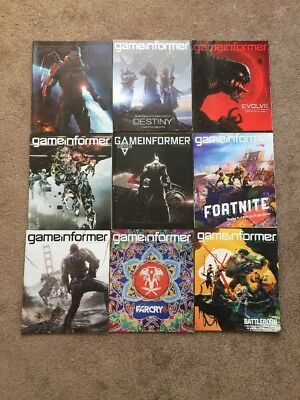 Lot Of 39 Game Informer Magazines Back Issues