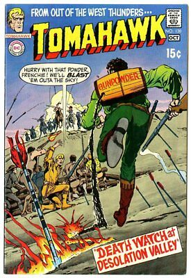 Tomahawk #130 VF+ 8.5 off-white pages  Neal Adams cover  DC  1970  No Reserve