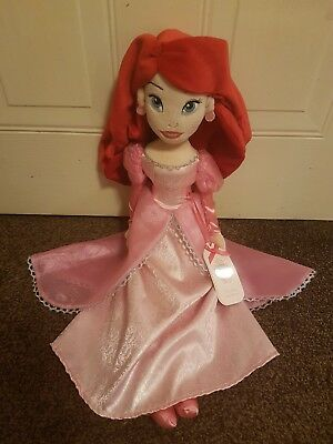 Disney Harrods Ariel Soft Plush Doll Toy, Brand New With Tags, Rare