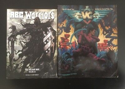 2 Rare 2000ad Graphic Novels, ABC Warriors, The VCs Book Two