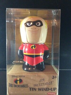 Disney Mr Incredible Tin wind-up toy