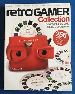 Retro Gamer Collection Volume 4 256 Pages VGC
