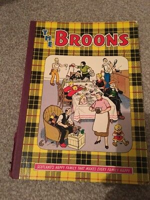 THE BROONS 1971 annual , d, c, thomson and co