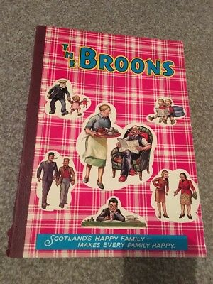 THE BROONS 1973 annual , d, c, thomson and co poor condition spine bottom