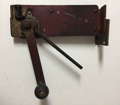 Vintage Red Metal Wall Mount Can Opener Old Kitchen Tool Farmhouse Decor
