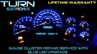 instrument cluster repair 2004 chevy silverado