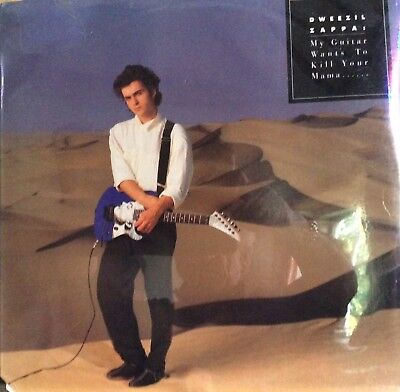 "DWEEZIL ZAPPA ""MY GUITAR WANTS TO KILL YOUR MAMA""  NEW SHRINK Wrap LP  Frank!"