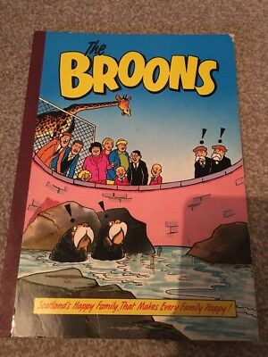 THE BROONS 1989 annual , d, c, thomson and co