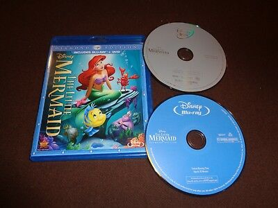 The Little Mermaid * Disney Blu Ray & DVD * 2-Disc Set * No Digital * Diamond Ed