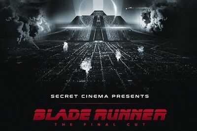 Secret Cinema Bladerunner Tickets (X 2) Friday 30th March 2018. SOLD OUT SHOW