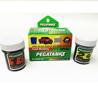 PEGATANKE BLACK MARINE EPOXY GLUE SUPER STRONG UNDERWATER Free Shipping