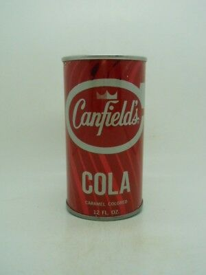 Canfields Cola FAN Tab Top Soda Can-Chicago ILLINOIS