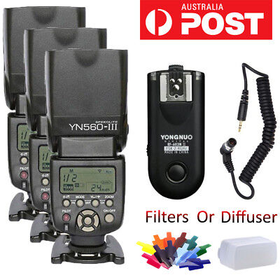 YONGNUO YN560 III Flash Speedlite Kit/RF-603 II N1 Wireless Controller For Nikon