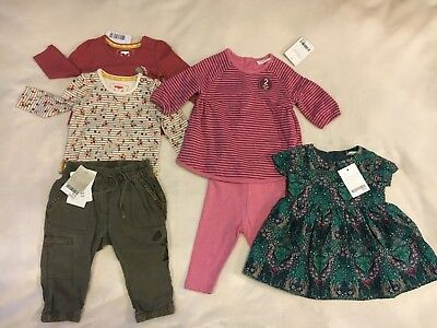 Baby Girls Clothes Bundle . Next . Up to 1month - 3-6 Months All New