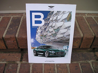 Bentley Exp 10 Speed Magazine Feature/title Into The Future/plus Gt3-R Articles!