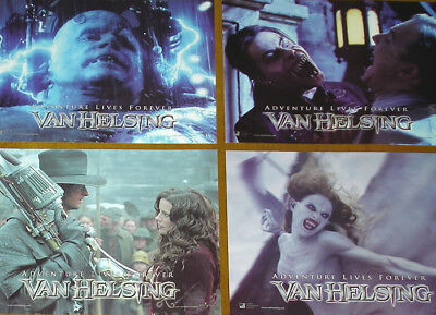 VAN HELSING - 11x14 US Lobby Cards Set - Hugh Jackman, Kate Beckinsale - DRACULA
