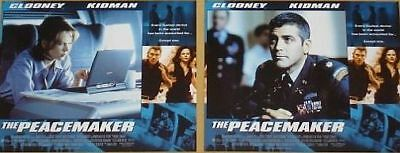 THE PEACEMAKER - 11x14 US Lobby Cards Set - George Clooney, Nicole Kidman