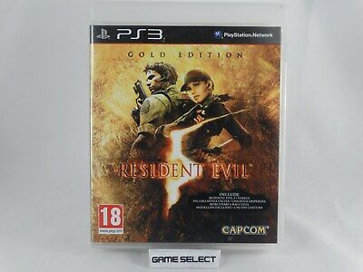 Resident Evil 5 Gold Edition - Sony Ps3 Playstation 3 Pal Ita Italiano Completo