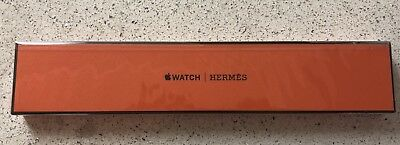 Apple Watch Hermes 38mm Fauve Barenia Double Buckle Cuff - BRAND NEW SEALED!!!