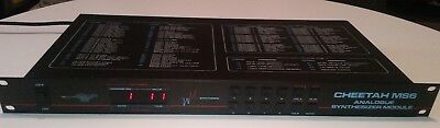 Cheetah MS6 Analogue Synthesizer Module with MAAD OS and User Manual