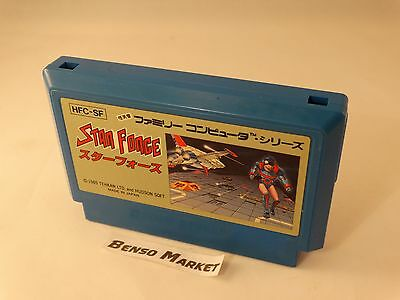 Star Force Nintendo Famicom Nes 8 Bit Giapponese Jap Jp Import Ntsc Loose Hvc-Sf