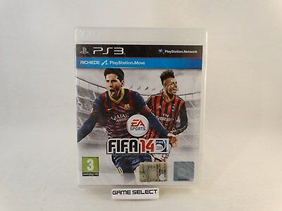 Fifa 14 2014 Soccer Sony Ps3 Playstation 3 Pal Ita Italiano Nuovo Sigillato
