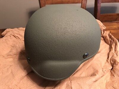 Genuine Issue Ballistic Kevlar Advanced Combat Helmet (ACH) Gentex Sz Small NEW