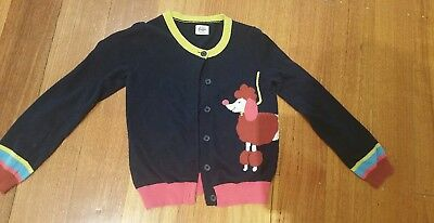 Mini Boden Girls Cardigan Size 7-8 year old