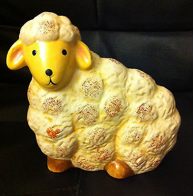 Adorable Painted Ceramic Sheep - New!!