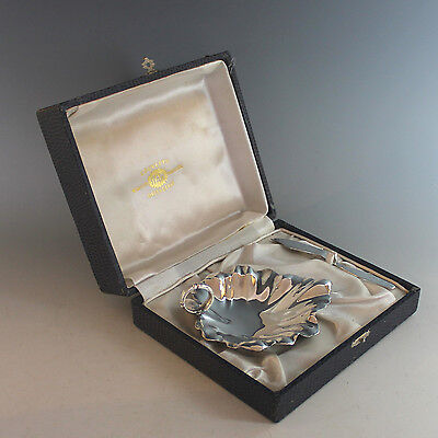Vintage Silverplate Butter Dish and Spreader Boxed Set