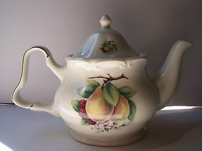 FORMALITIES BY Baum Bros. Teapot With Fruit and Flowers - $4.50 ...