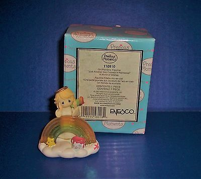 Precious Moments Avon Just Another Day Colored In Rainbows 110910 NIB
