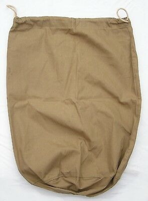 Unused Original Wwii Us Army Water Repellent Olive Drab Barrack Bag Dated 1942