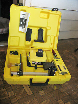 David White Ml-200 Rotary Laser Level W/agl Ls-4 Receiver  In Case