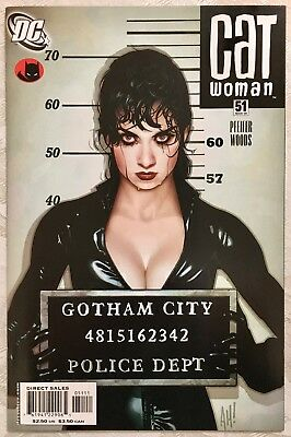 Catwoman #51 Adam Hughes Lost Numbers Cover, NM+, Gorgeous!!! DC, Batman