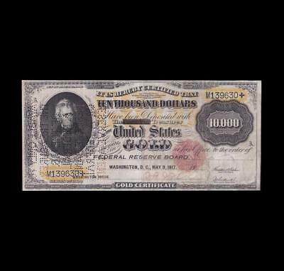 1900 $10,000 Fr 1225 Apparent Strong Very Fine