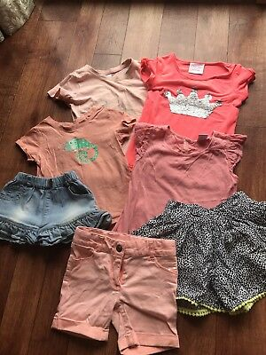 Girls Clothes Size 3 Bulk Tshirts Shorts