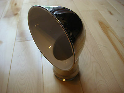 """SAILBOAT DORADE COWL VENTS ABI STAINLESS STEEL 4"""" x 12"""" With Deck Plate NEW"""