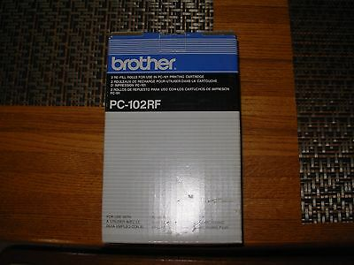 Brother PC-102RF -  re-fill rolls for use in PC-101 Printing Cartridge   New!