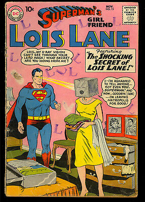 Superman's Girl Friend Lois Lane #13, 16, 31, 34 DC GROUP (4 Comics) 1959 GD+