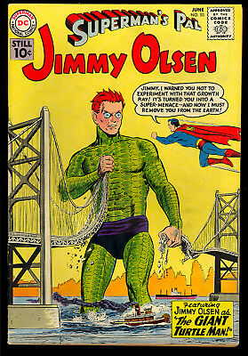 Superman's Pal Jimmy Olsen #53, 67, 73, 75 DC GROUP (4 Comics) 1961 GD+ to VG+