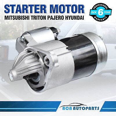 Starter Motor for Mitsubishi Triton ME MF MG MH MJ MK V6 6G72 3.0L Manual 88-08