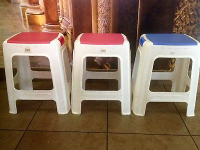 Two Plastic Stool ( Outdoors, Kids Room,patio )